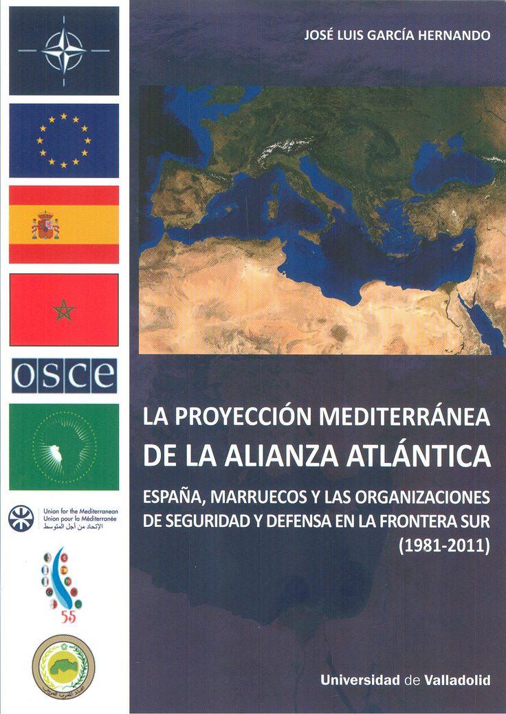 La temática que aborda este libro se relaciona directamente con las organizaciones de seguridad y defensa con intereses en el mar Mediterráneo, frontera sur de España y por tanto de la Unión Europea, así como flanco sur de la OTAN.   +info: (pinchando foto se accede a la página de EdUVa) http://almena.uva.es/record=b1741042~S1*spi