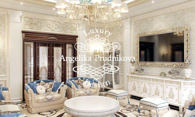 Дизайн дома в классическом стиле. Реальные фотографии из Грозного. Фото 2017