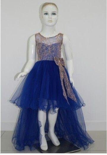 Saks blue ivy dress Saks mavi sarmaşık abiye elbise