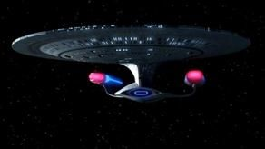 The USS Enterprise (NCC-1701-D) was a Federation Galaxy-class explorer that was in service with Starfleet in the late 24th century. This was the fifth Federation starship to bear the name Enterprise. During her career, the Enterprise served as the Federation flagship. The Enterprise was destroyed during the Battle of Veridian III in 2371. (Star Trek Generations)