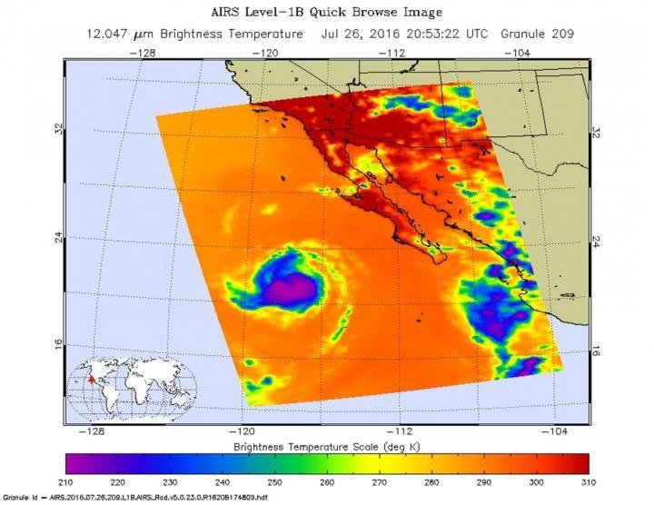 NASA sees compact Tropical Storm Frank weakening - https://scienmag.com/nasa-sees-compact-tropical-storm-frank-weakening/