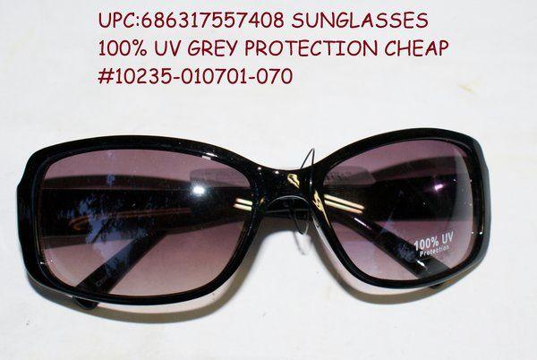 ea4a87832a Sunglasses 100% uv grey protection cheap  10235-010701-070