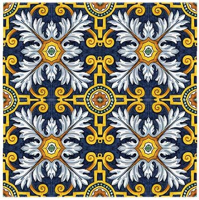 A Brief History of Hand-Painted Majolica Tile | Avente Tile Blog