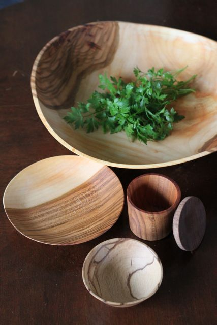 Incredible wood bowls