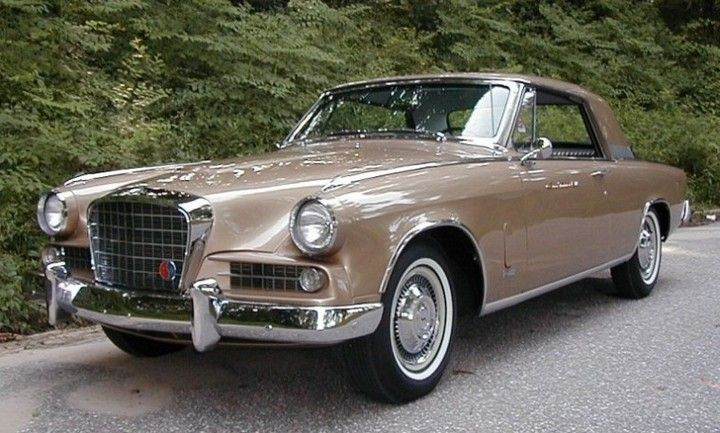 1963 Studebaker R2 Super Hawk