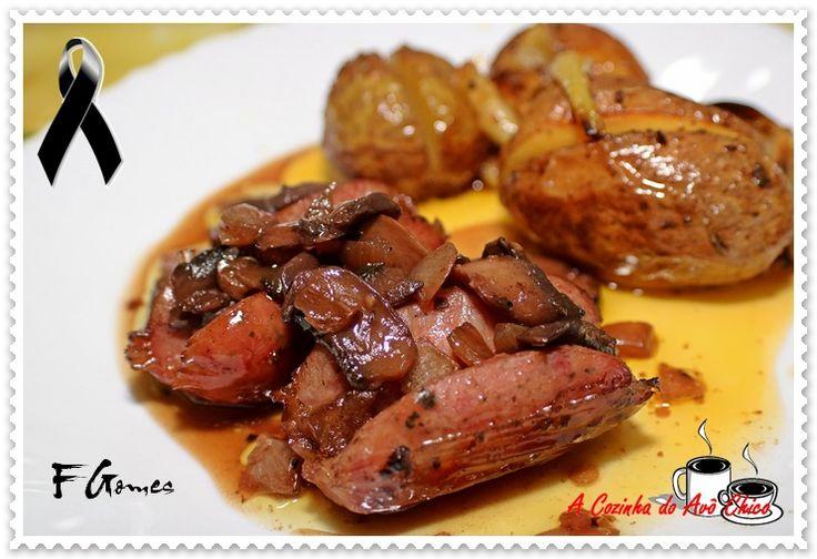 Salsichas de Churrasco no Forno – A Cozinha do Avô Chico