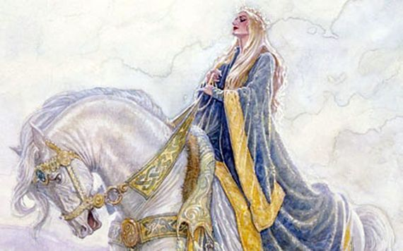 Tir Na Nog The Legend Of The Land Of Eternal Youth Horse Drawing Eternal Youth Great Warriors