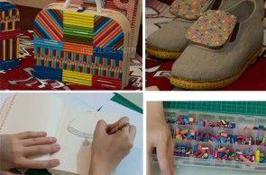 Membuat Aksesoris Unik Dari Pensil Warna