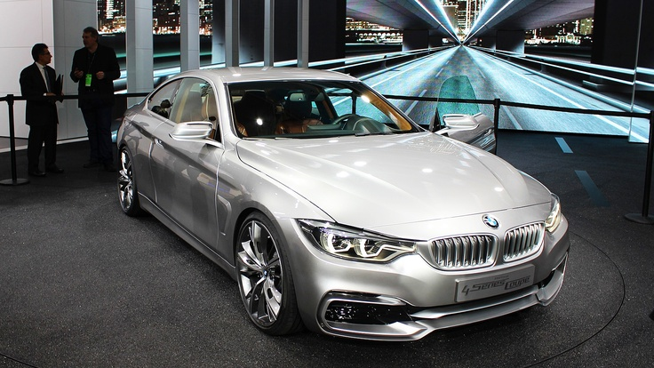 BMW Concept 4-Series Coupe on display at the 2013 Detroit auto show. Click on the above image for more photos and information. (Jeffrey Jablansky)