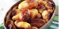 Συνταγή για λεμονάτες πατάτες με λαδορίγανη και μουστάρδα!