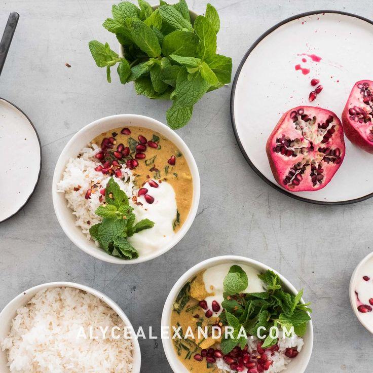 Cauliflower Curry  — alyce alexandra