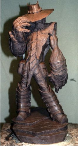 THE STRANGER..CLAYSCULPT FOR ABES'S ODDWORLD
