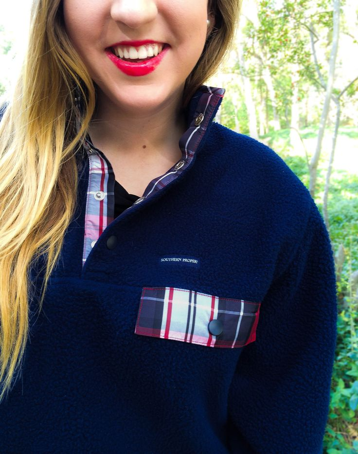 Frat Pullover from Southern Proper on the blog today! | Progression By Design