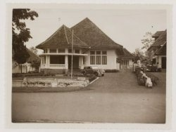 A house in Dago ~ in my imagination this is the home my dad lived in Dago 175~ MaryOuma