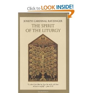 The Spirit of the Liturgy by Benedict XVI. Excellent book. #God #liturgy #Catholic #Christianity #books #paperbacks #theology