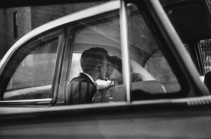 An Elliott Erwitt photograph.  (New York, 1955)