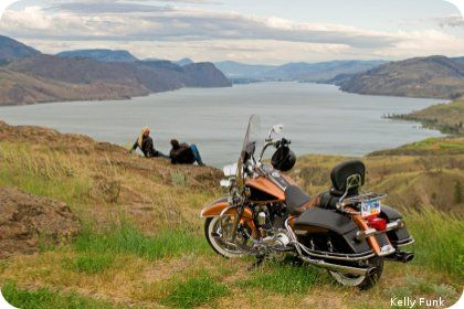 Motorcycle and Driving Circle Tours in Kamloops, British Columbia