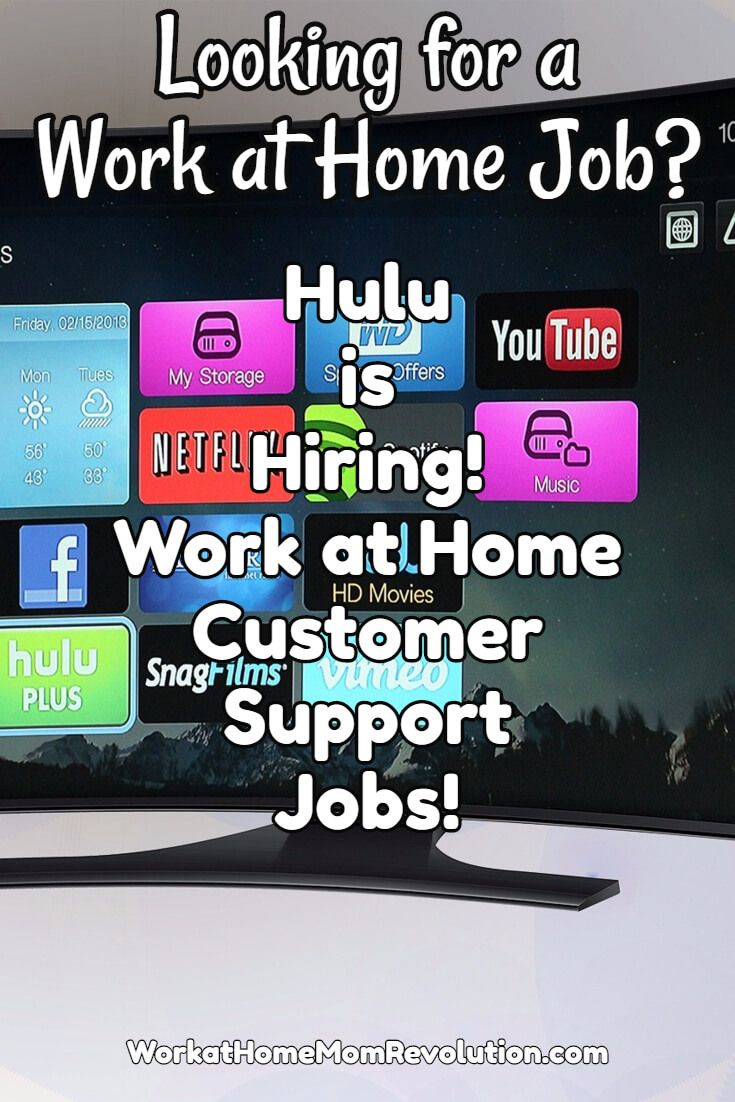 Hulu is hiring work at home customer service associates to assist customers via phone, email, and chat. You must have a quiet home office free of noise for these work from home jobs. Awesome home-based opportunity in California! You can make money from home!