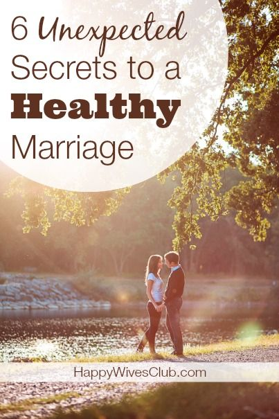 Want marriage tips worth their weight in gold? Here are 6 surprising secrets to a healthy marriage.