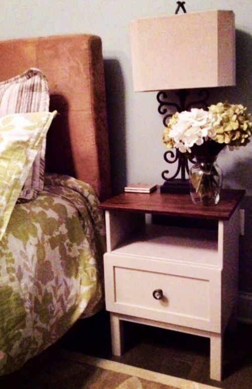 DIY with Ikea Tarva unfinished furniture; save tons of money