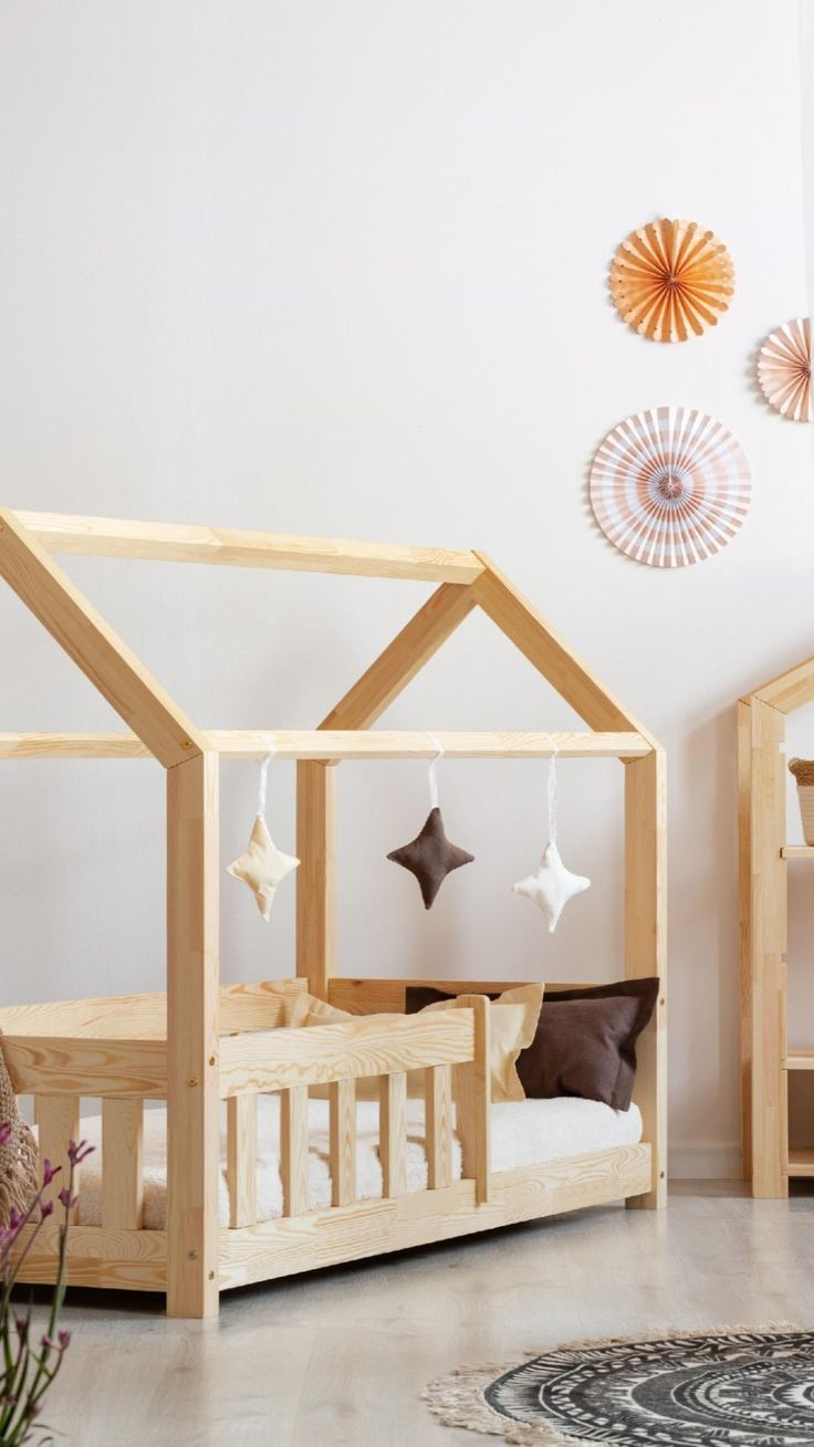 House Beds For Kids, Toddler House Bed, Toddler Rooms, Kid Beds, Big Girl Rooms, Baby Boy Rooms, Childrens Duvet Covers, House Frame Bed, Bed Frame