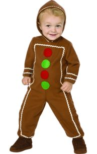 Child Gingerbread Man Costume
