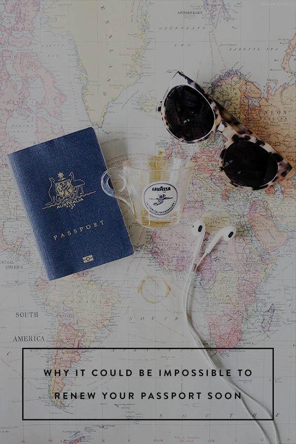 Why It Could Be Impossible to Renew Your Passport Soon. That is, if you don't do it right this second.