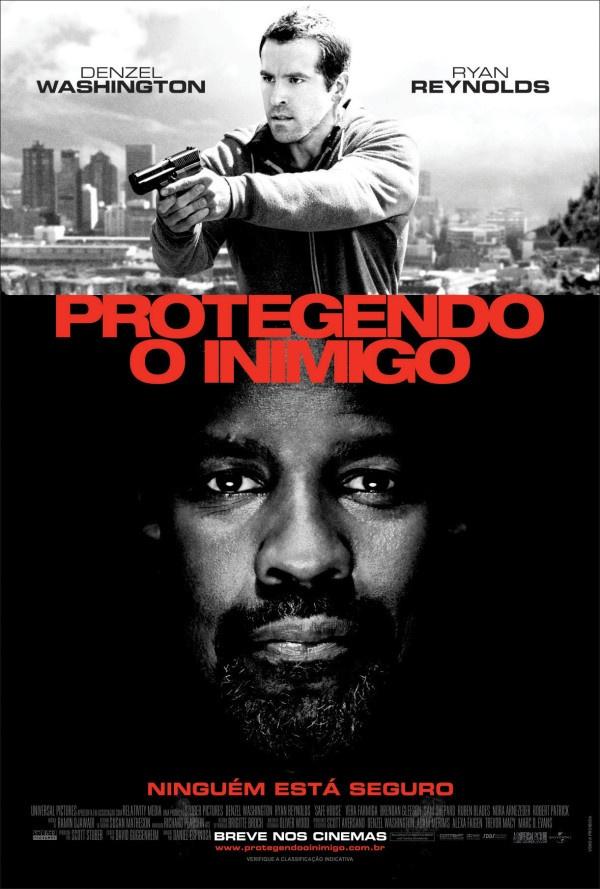 """Safe House"" in Portuguese ""Protegendo o inimigo"" (Translation: ""Protecting the Enemy"")"