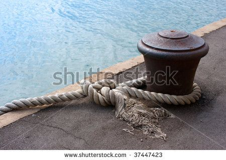 tied mooring bollards - Google Search