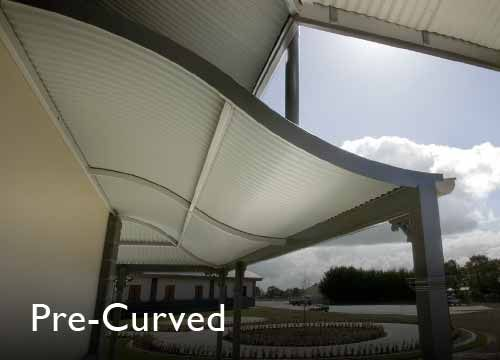 Stratco Pre-Curved Roofing and Wall Cladding