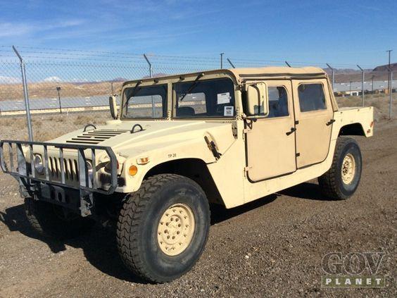 Surplus Hummers For Sale, via WCXC