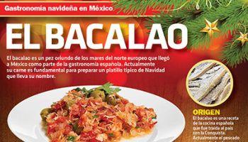#Infografía Gastronomía navideña en México: El Bacalao
