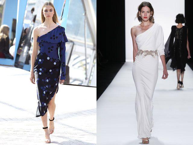 Модные асимметричные платья сезона весна-лето 2016