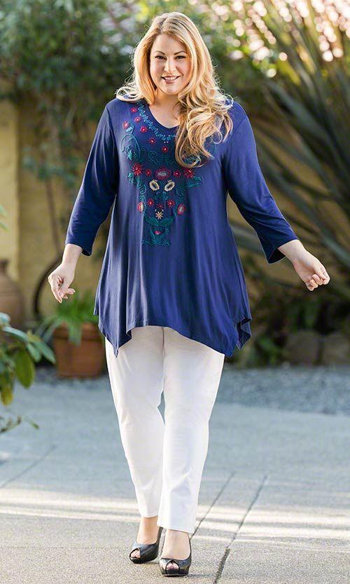 Brynn Tunic / MiB Plus Size Fashion for Women / Summer Fashion / Caite Fashion http://www.makingitbig.com/product/5246