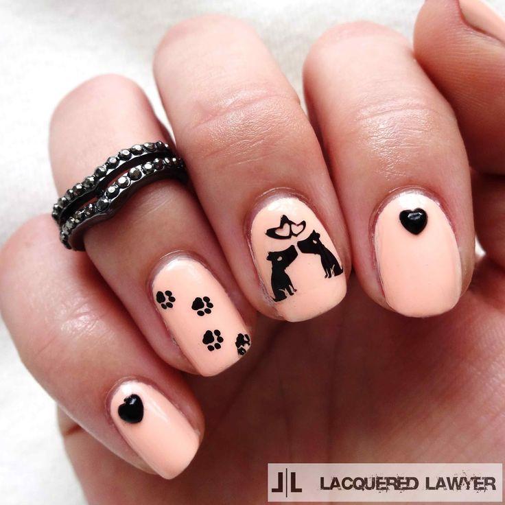 Lacquered Lawyer | Nail Art Blog: Must Love Dogs - Cele Mai Bune 25+ De Idei Despre Dog Nails Pe Pinterest