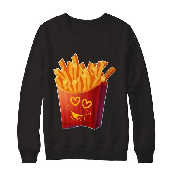 men and woman s french fries emoji for valentines day shirt shop cartoon t shirts friends shirt pinterest