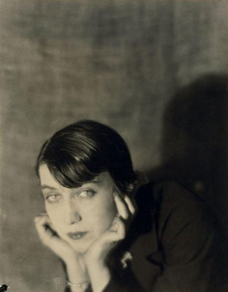 Berenice Abbott (July 17, 1898 – December 9, 1991), born Bernice Abbott, was an American photographer best known for her black-and-white photography of New York City architecture and urban design of the 1930s, and she also made memorable images of lesbians, bisexuals, and gay men in Paris in the 1920s and in New York from the 1930s through 1965. Photo by Man Ray, 1922.