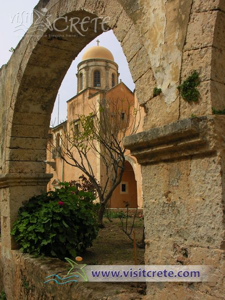 Crete, Chania, Akrotiri, Agia Triada Tzagarolon