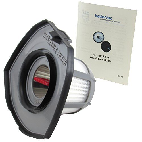 Bissell #1610369 Bolt Lithium Lightweight 2 in 1, Pet & MAX Pet Vacuum Filter With Care Guide