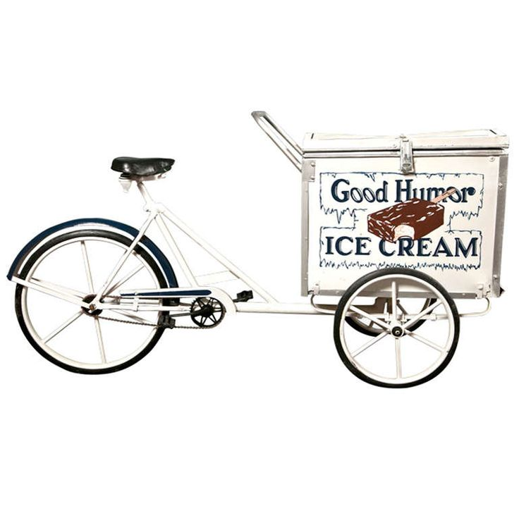 Good Humor Bike | From a unique collection of antique and modern carts at https://www.1stdibs.com/furniture/more-furniture-collectibles/carts/