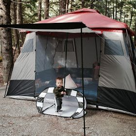 Dad Don't Lie - a Dad blog out of Halifax taking an honest look at the journey through parenthood.: ROOKIE DAD LESSON LEARNED #106 - Camping with a toddler is a lot of work