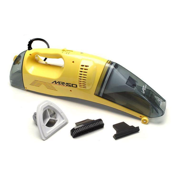 Vapamore MR-50 Steam Vacuum Combo, Yellow