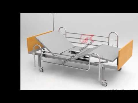 Ucuz Elektrikli Lazımlıklı Hasta Yatağı