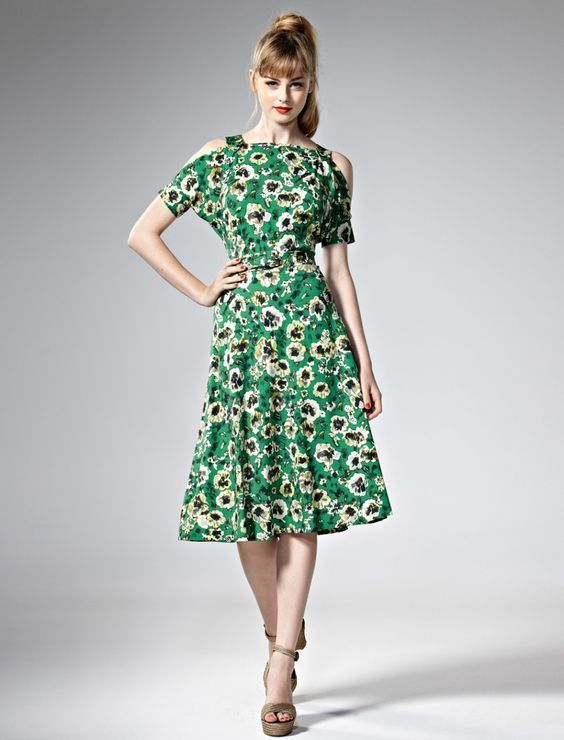 Leona Edmsiton Katie Green Tropical Frock Size 1 BNWT RRP $445