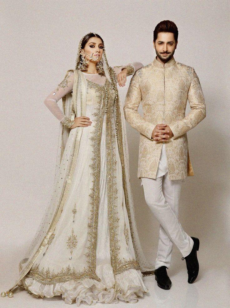"""Ayeza Khan and Danish Taimur for Amina Yasmeen F/W 2016 """