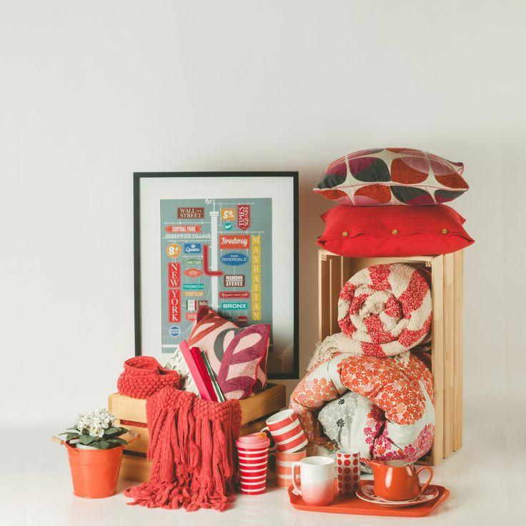 Colores cálidos renuevan tu casa esta primavera. Primavera - Verano 2015