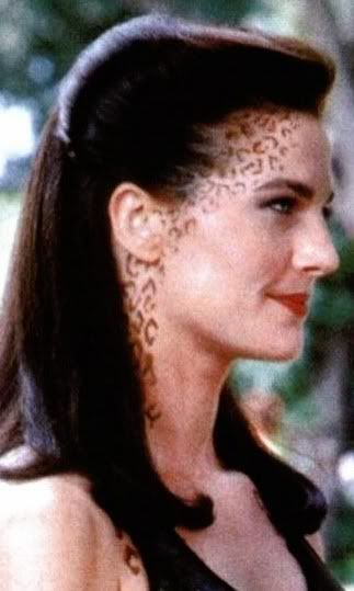 Jadzia Dax - trill spots samples and ideas