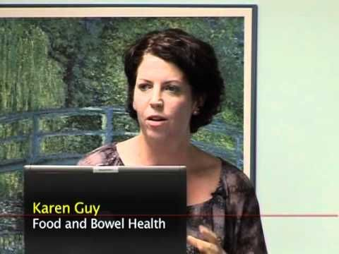 SAH Cancer Support Bowel Cancer Forum 2011 - WATCH THE VIDEO.    *** colon cancer surgery ***   This DVD includes presentations on the following topics: Dr Peter Loder – Bowel Cancer Surgery A/Prof Gavin Marx – Colorectal Cancer Treatment Overview Glenda Flew – Stoma Therapy Karen Guy – Food and Bowel health Greta Spiegel –...