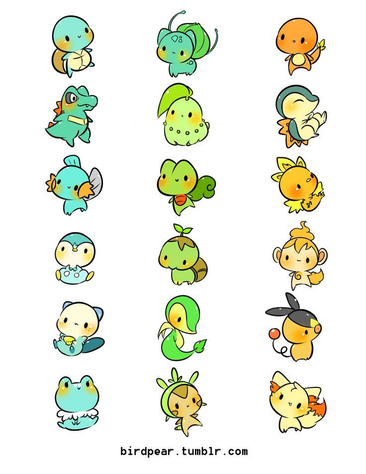 Pokemon Problems (birdpear: STARTERS)