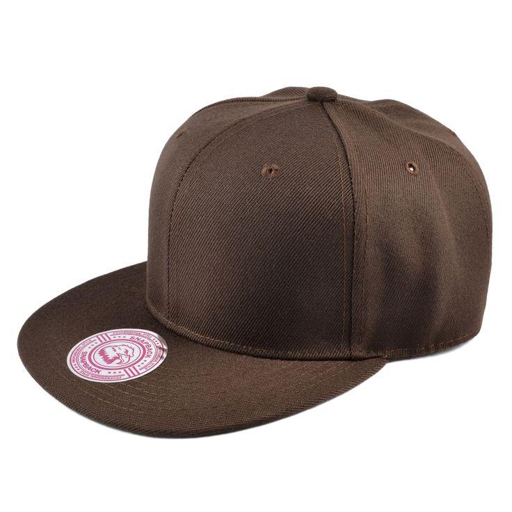 Brun Snapback Cap - 199,00kr